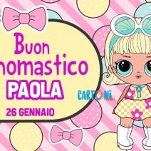 Buon onomastico Paola 26 gennaio - Buon onomastico