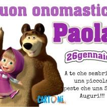Buon onomastico Paola auguri - Buon onomastico