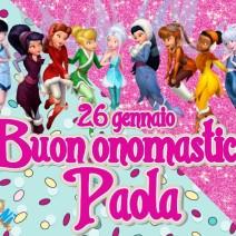 26 gennaio Buon onomastico Paola - Buon onomastico
