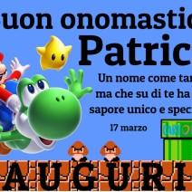 Buon onomastico Patrick - Buon onomastico