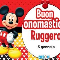 Buon onomastico Ruggero - Buon onomastico