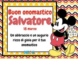 Buon onomastico Salvatore