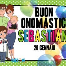 Buon onomastico Sebastiano - Buon onomastico