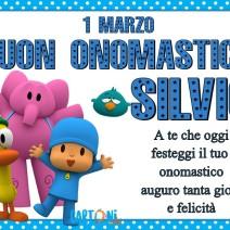 Buon onomastico Silvio 1 marzo - Buon onomastico