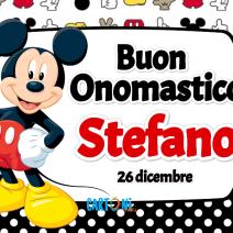 Buon onomastico Stefano - Buon onomastico