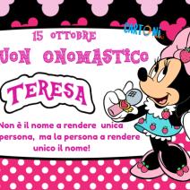 Buon onomastico Teresa - Buon onomastico