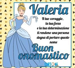 Buon onomastico Valeria