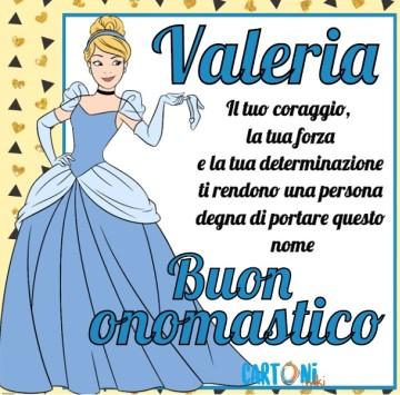 Buon onomastico Valeria - Cartoni animati