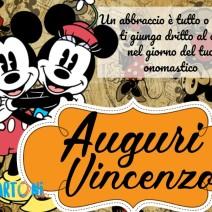 Buon onomastico Vincenzo - Buon onomastico