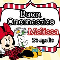 Buon onomastico Melissa - Buon onomastico