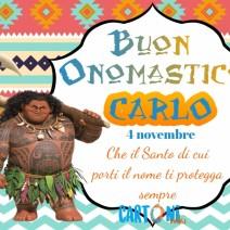 Auguri Carlo per il tuo onomastico - Buon onomastico