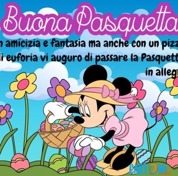 Buona Pasquetta con amicizia e fantasia - Cartoni animati