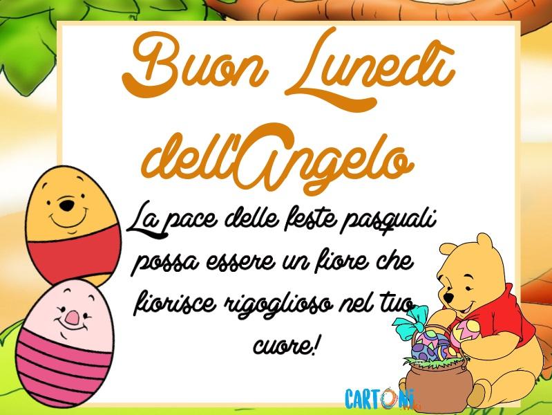 Buongiorno e buon lunedì dell'angelo - Cartoni animati