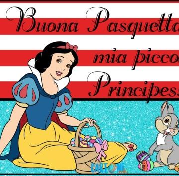 Buona Pasquetta mia piccola Principessa - Cartoni animati