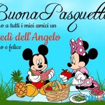 Buona Pasquetta auguro a tutti i miei amici - Auguri
