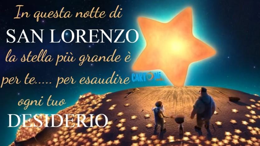 Buona notte di San Lorenzo - Cartoni animati