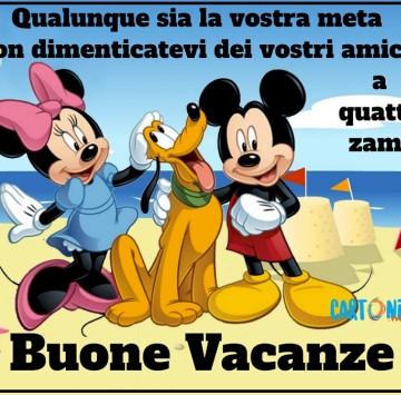 Buone vacanze - Cartoni animati