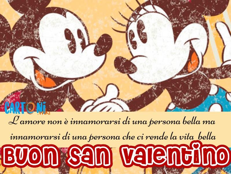 Buon San Valentino a tutti i miei amici - Cartoni animati