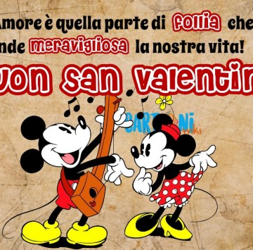 Buon San Valentino con Minni e Topolino - Cartoni animati