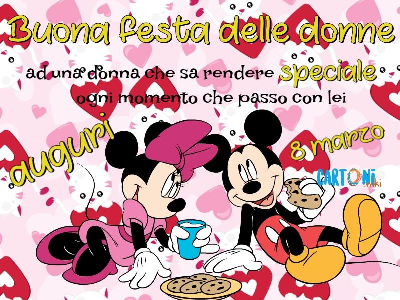 Buona Festa Delle Donne Alla Mia Ragazza Cartoni Animati