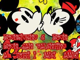 Amici Buongiorno e buon San Valentino