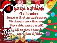 Buongiorno e buon 21 dicembre - Natale