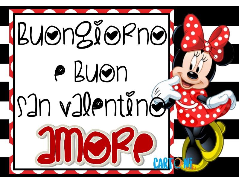 Buongiorno e Buon San Valentino Amore - Cartoni animati