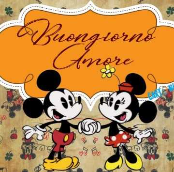 Buongiorno Amore - Cartoni animati