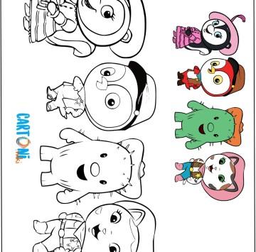 Callie sceriffa del West disegni da colorare - Cartoni animati