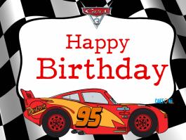 Cars 3 Happy Birthday