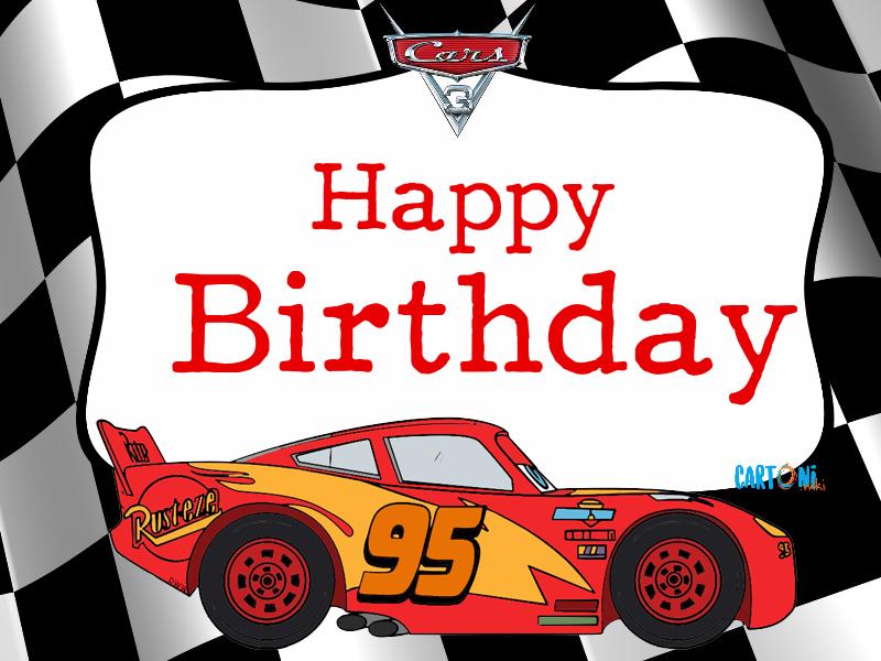 Cars 3 Happy Birthday - Cartoni animati