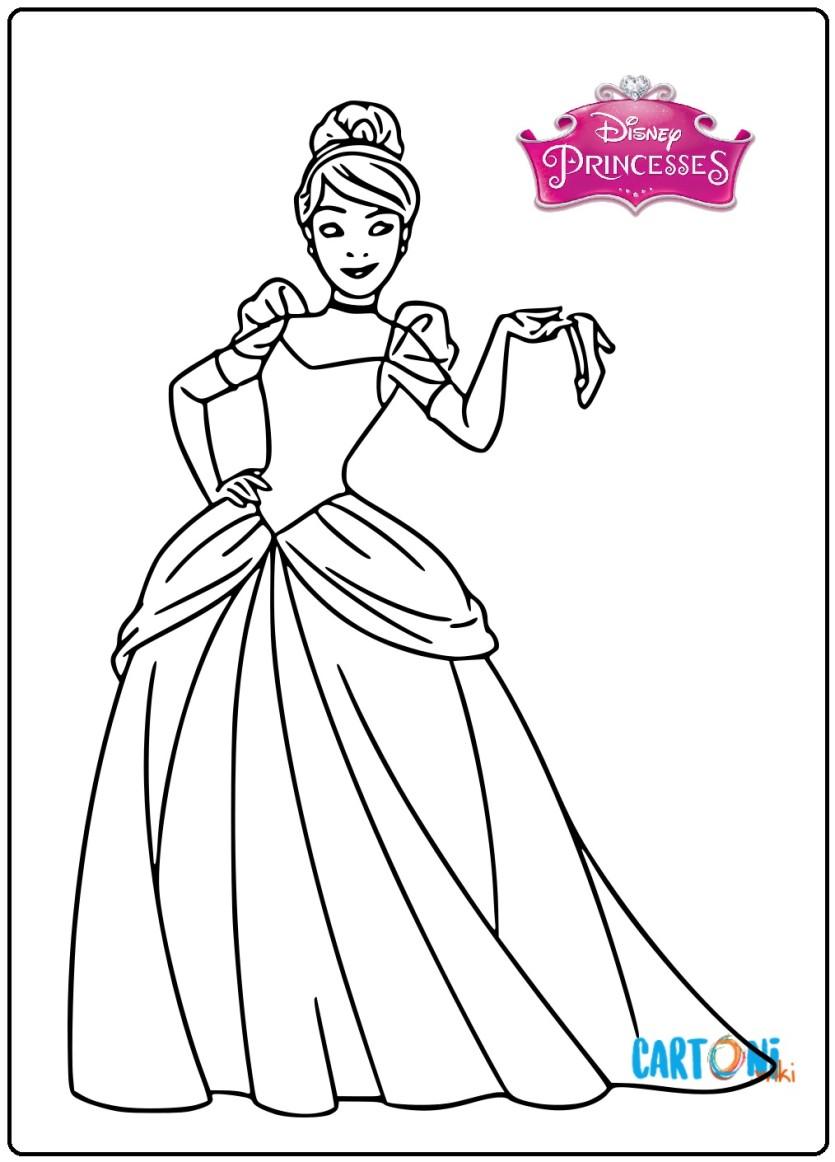 Disney Cenerentola Disegni Cartoni Animati