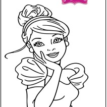 Cenerentola disegni da colorare gratis - Disegni da colorare