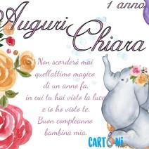 Chiara compie 1 anno - Chiara