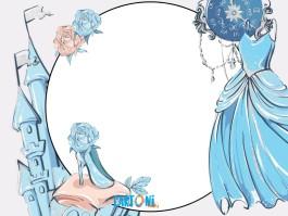 Cinderella Party invitation printable