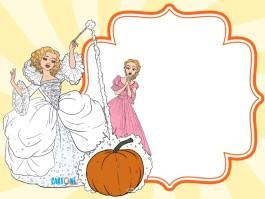 Cinderella party invitation