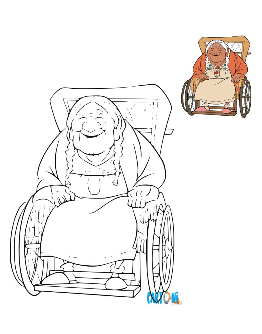 Colora Mama Coco - Cartoni animati