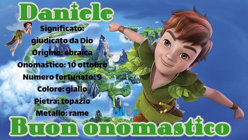 Daniele buon onomastico - Cartoni animati