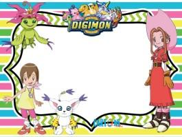 Digimon inviti festa compleanno
