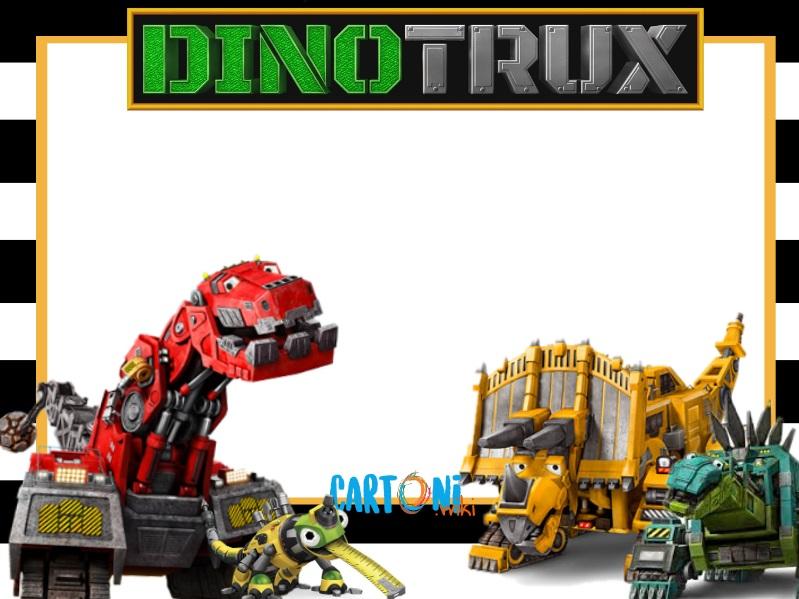 Dinotrux party ideas - Cartoni animati