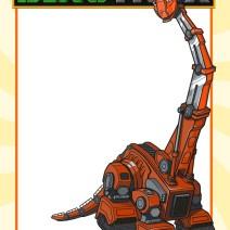 Dinotrux Invito Skia - Inviti compleanno online