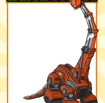 Dinotrux Invito Skia - Cartoni animati