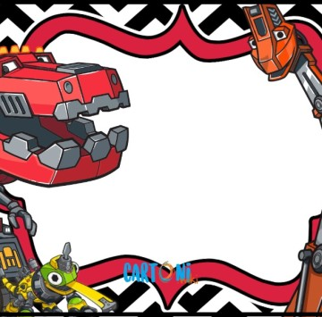 Dinotrux party invitations - Cartoni animati