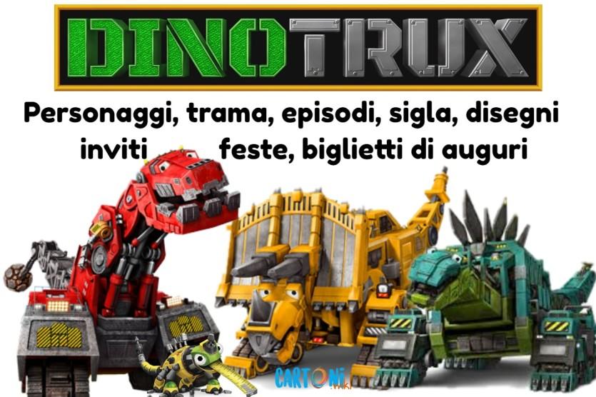 Dinotrux - Cartoni animati