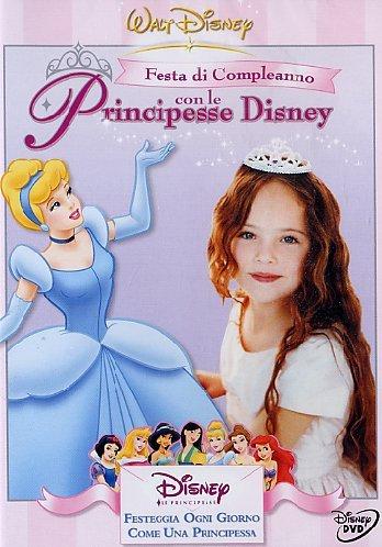 Festa di compleanno con le principesse Disney - Cartoni animati