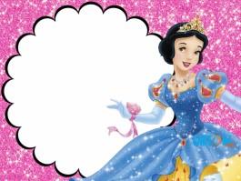 Invito compleanno Biancaneve Disney Princess