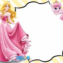Invito Aurora e Beauty Disney Princess - Invito feste compleanno