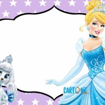 Invito Cenerentola principessa Disney - Invito feste compleanno