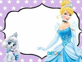Invito Cenerentola principessa Disney