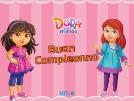 Buon Compleanno da Dora and Friends